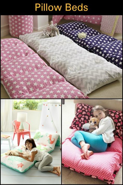 Make Your Kids This Diy Pillow Bed Crafts How To Make