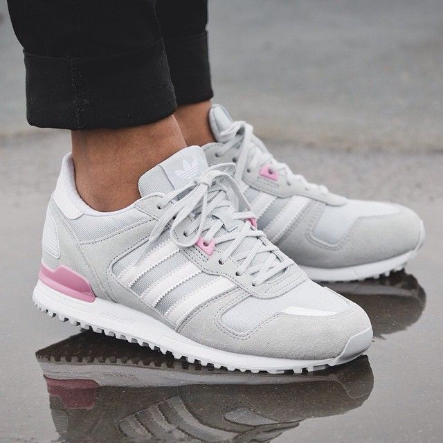 adidas ZX 700 W (grey / pink) - 43einhalb Sneaker Store Fulda