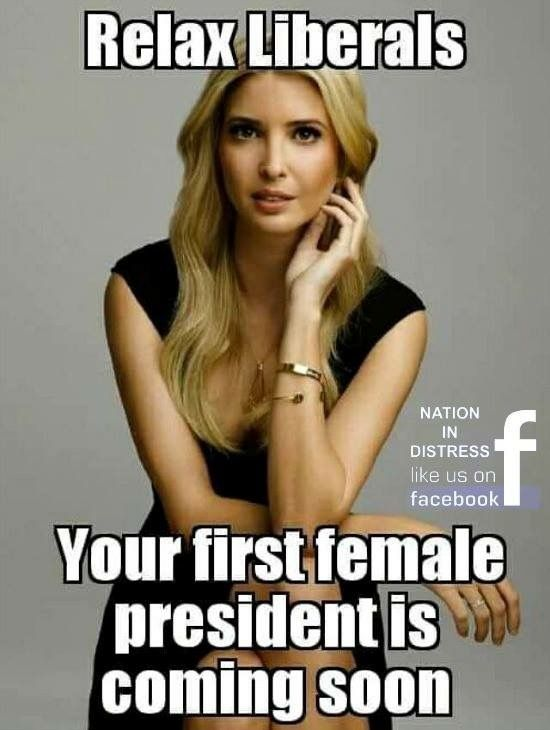 Well heck ya!! I only pray she is our first female president!!!
