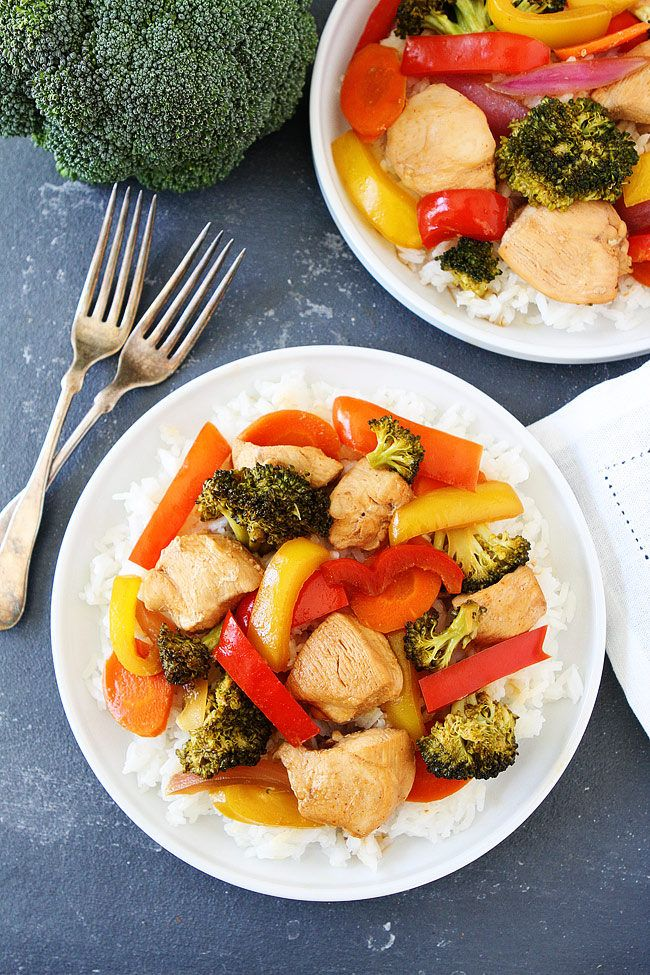 Asian Chicken and Vegetable Foil Packets are easy to prepare and cook on the grill in no time