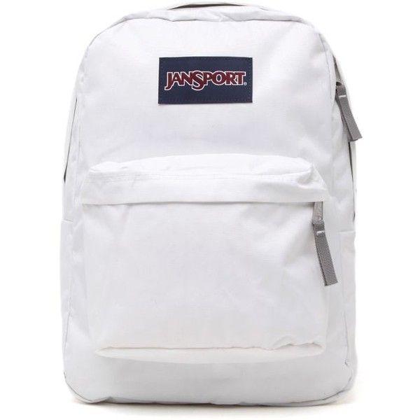 Jansport Superbeak School Backpack found on Polyvore featuring bags, backpacks, accessories, bookbags, jansport rucksack, knapsack bags, jansport daypack, zip bags and backpacks bags