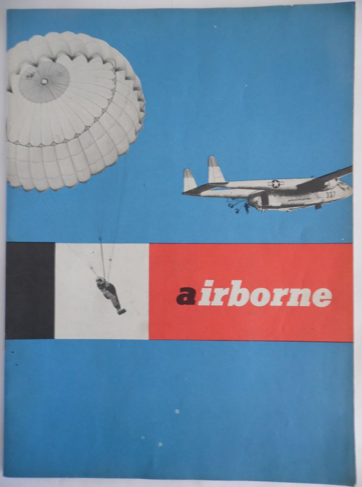 U.S. Army Airborne 1954 recruiting booklet by theposterposter on Etsy