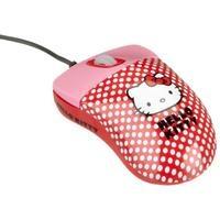 Hello Kitty Optische USB Maus rot
