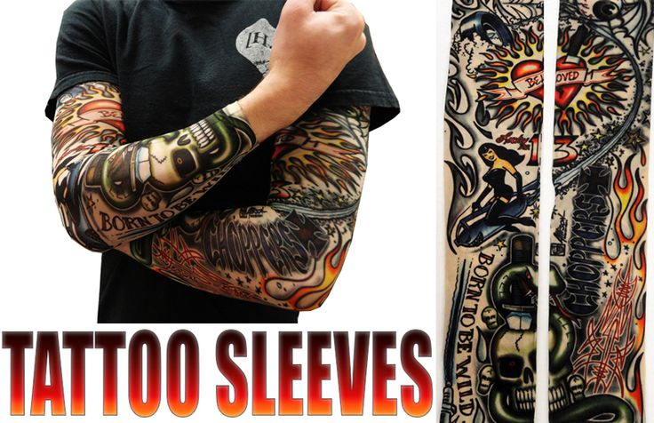 tattoo sleeves vintage rockabilly fake tattoo sleeves pair men 39 s fashion pinterest. Black Bedroom Furniture Sets. Home Design Ideas