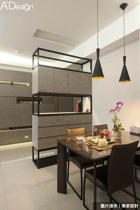 櫃子一定要是同一種顏色嗎?不同深淺的木皮或是搭配些鐵件和五金。即使是木作或是系統櫃體。也能和活動 ...