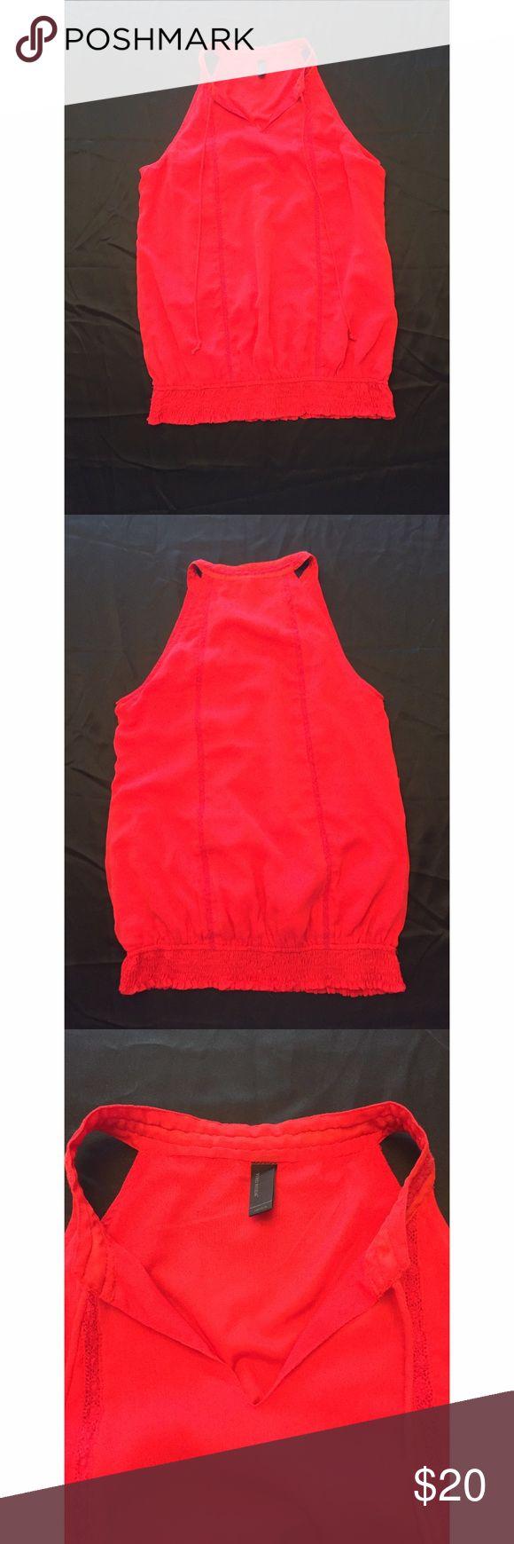 Vero Moda Halter Neck Top Red Size M Vero Moda Halter Neck Top Red Size M Vero Moda Tops Blouses
