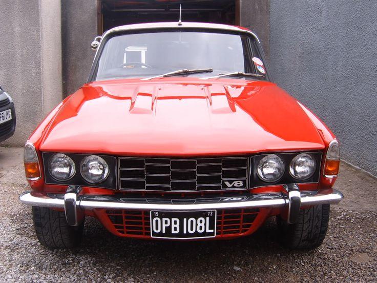 72 Rover V8 P6