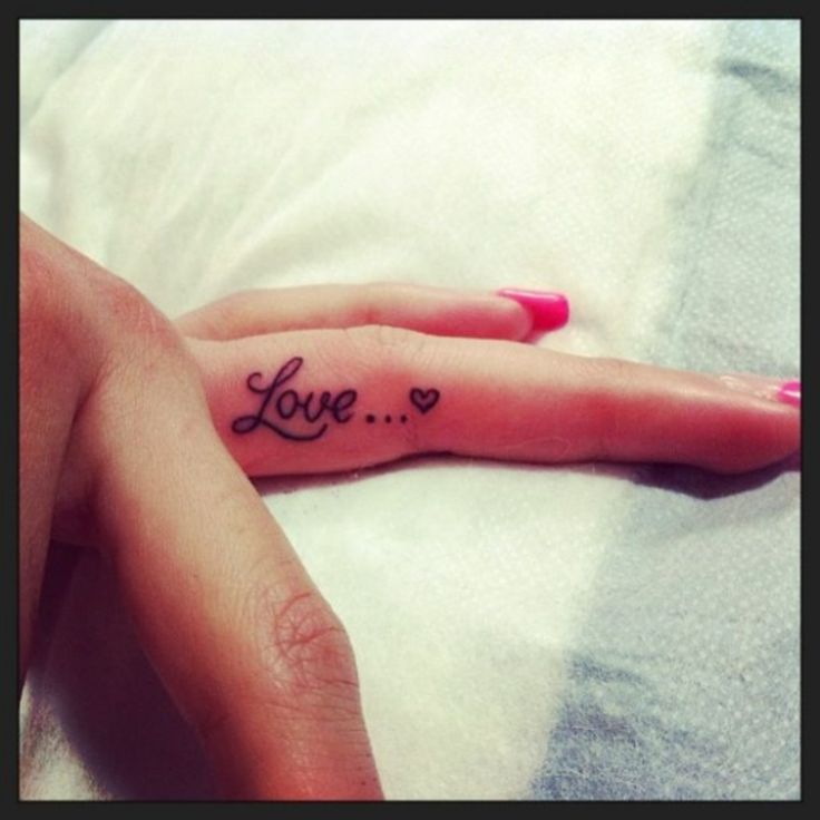 38 #Adorable, Tiny Finger Tattoos for Girls Who Love Ink   ...