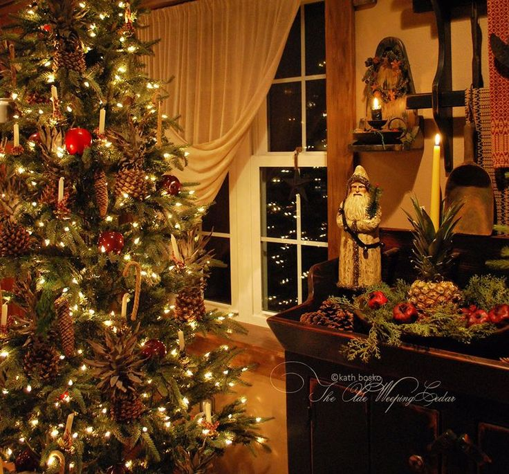 1000 images about Country christmas decorating on