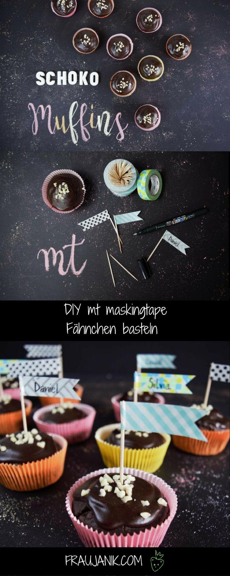 DIY mt masking tape Fähnchen basteln... schnell, einfach & effektvoll. Perfekt mit für Kindergeburtstage!