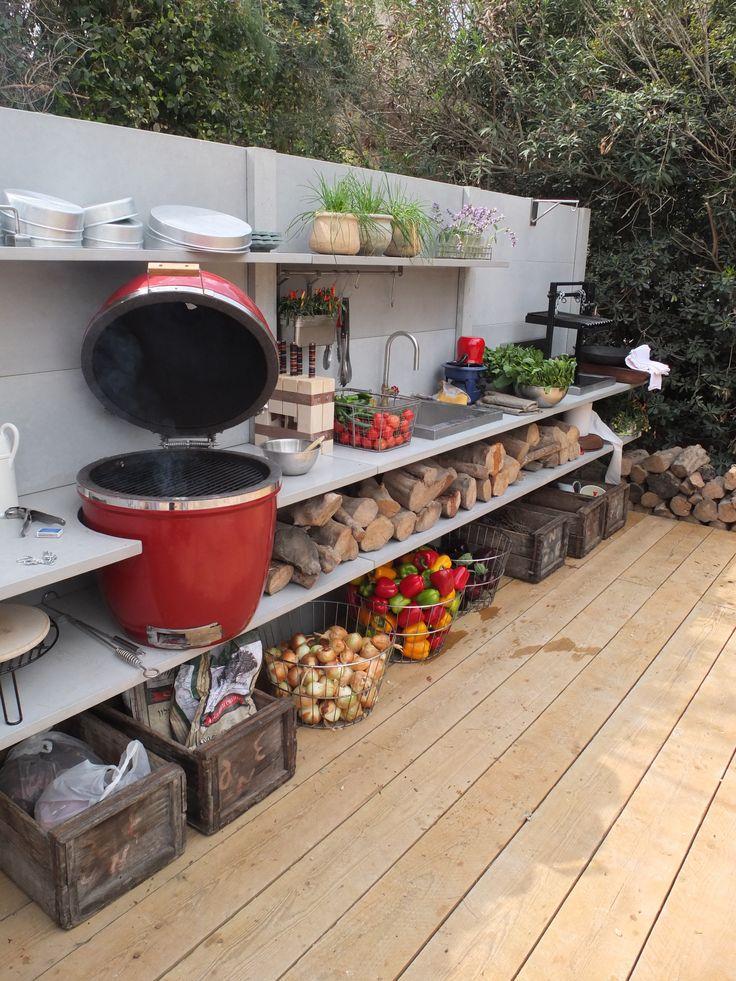 WWOO outdoor kitchen in Isreal | www.wwoo.nl