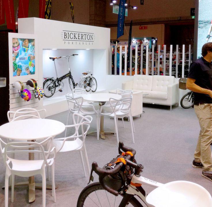 Stand diseñado y construido para Vic Sports Affers para la feria Unibike