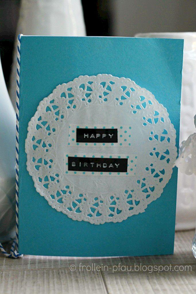 DIY, Creadienstag, Frollein Pfau, selbstgemachter Gutschein selbstgebastelte Geburtstagskarte, Happy Birthday, Geburtstag, Geschenk, Tortens...