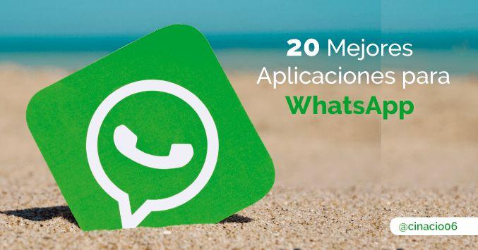 Las 20 Mejores y más Populares Aplicaciones GRATIS para potenciar y actualizar WhatsApp de manera divertida. ¿Quieres hacer envidia a todos tus amigos?