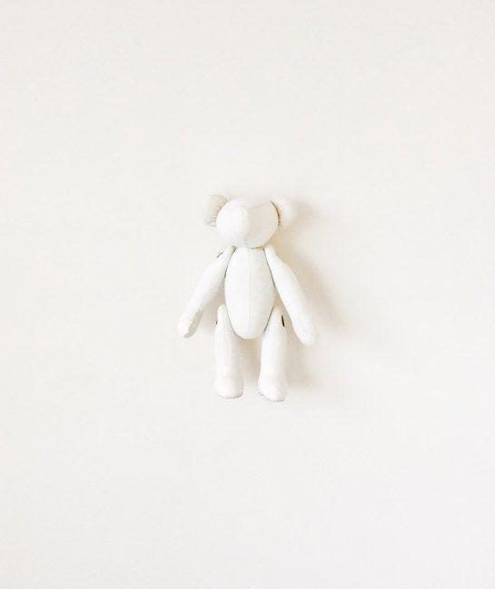 Nursery Decor Stuffed Animal Teddy Bear Unisex by moonroomkids