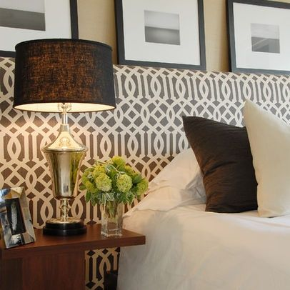 upholster the wall....not just a head board.