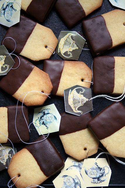Un petit biscuit original que l'on prend volontiers avec le thé !