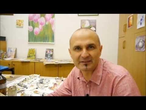Az olajfestés alapjai kezdőknek workshop - YouTube
