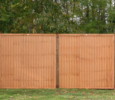 Grange Closeboard Vertical Fence Panels are undoubtedly very substantial, they are sturdily constructed, manufactured using high quality dip treated timber.