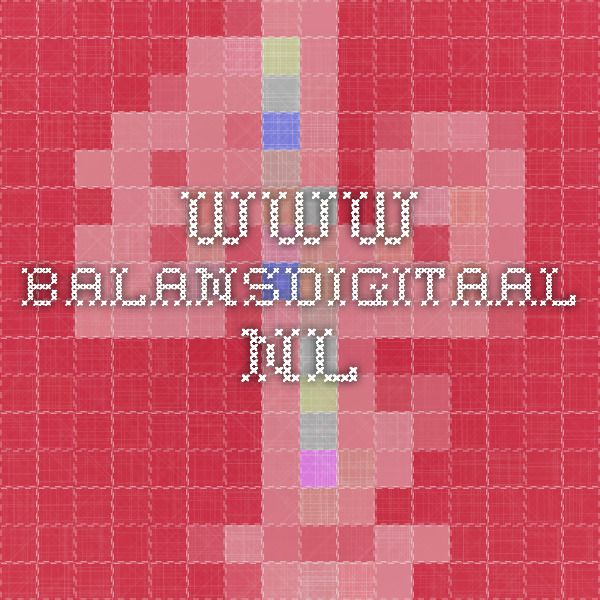 www.balansdigitaal.nl