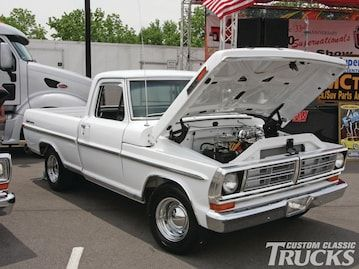 Check out this Ford F-100 Supernationals & All Fords Show. Read more only at www.customclassictrucks.com, the official website for Custom Classic Trucks Magazine!