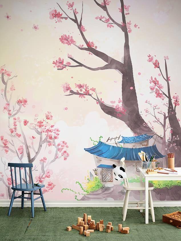 Μετατρέψτε το παιδικό δωμάτιο σε ονειρικό σκηνικό!  Ταπετσαρία τοίχου: http://www.houseart.gr/select_use.php?id=80&pid=8586  #houseart #wallpaper #kids_room #play #decoration #enjoy