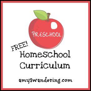 pré-escolar gratuito e currículo do jardim de infância