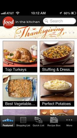Top holiday cooking apps on iOS