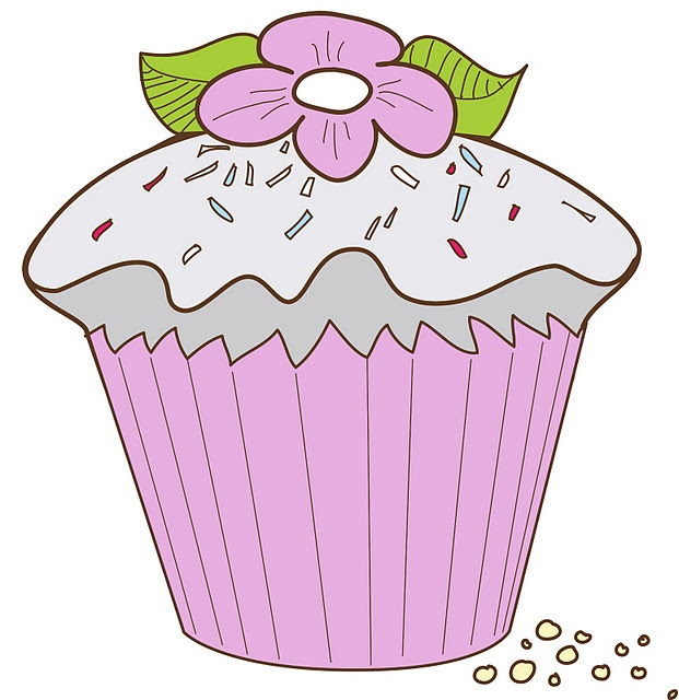 printable image-cup cake: Inspiration, Cupcakes, For, Learn Crafts, Image, Cup Cake, Craft Is, Cupcake Illustrations, Images To
