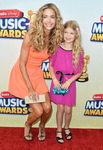 Denise Richards and Lola Sheen, her second daughter with Charlie Sheen