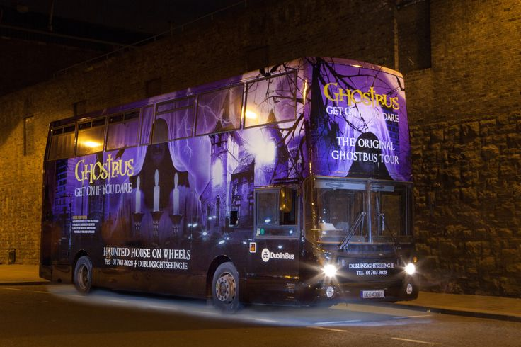 The newest of the Ghostbus fleet, and the fourth in its history, passengers are invited to enter if they dare. Upstairs you will find a Victorian house, whilst downstairs why not enjoy playing cards with the Devil himself. #Ghosts #Ghostbus #LoveDublin #Dublin