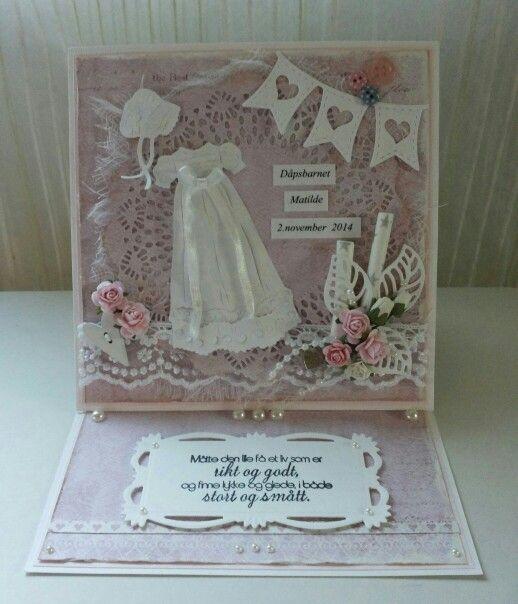 Dåpskort staffeli