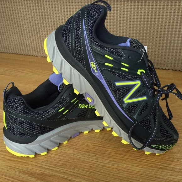 BNWOB New Balance 610v4 All Terrain Shoes Brand NWT New Balance All Terrain Trail Running shoes. These are the 610v4 style. Beautiful purple and neon green accents. Size 7. New Balance Shoes Athletic Shoes