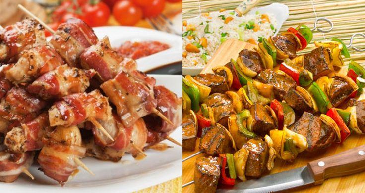 Os Espetinhos Deliciosos para Churrasco são econômicos, fáceis de fazer e ficam muito saborosos. Faça para o seu churrasco e receba muitos elogios! Veja Ta