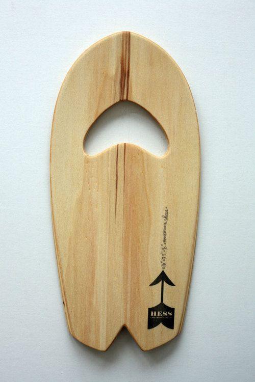 Mini Arc Swallow - Handplane by Hess Surfboards