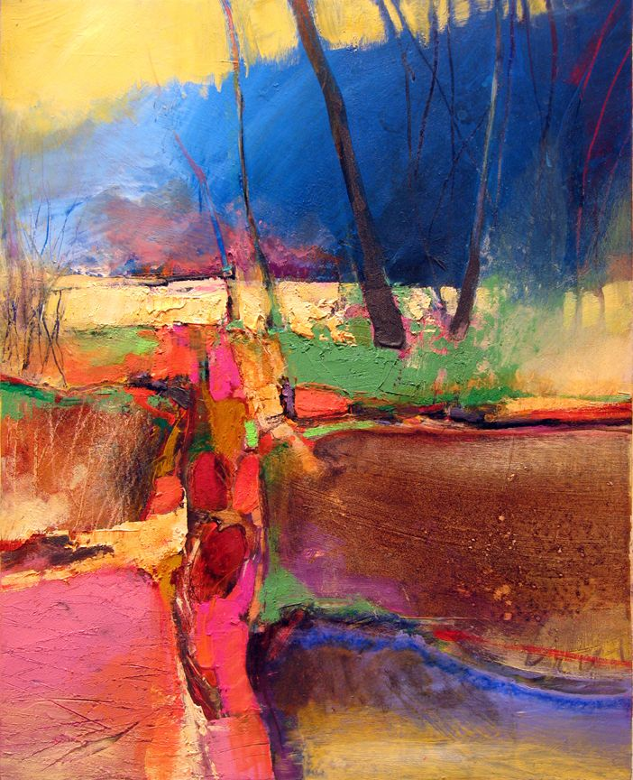 Color Without Rules: Mark Gould  - abstract landscape