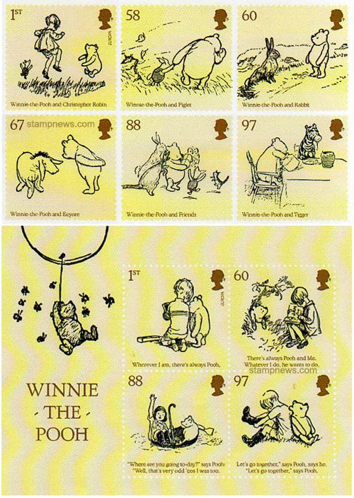 Great Britain - Europa 2010 Children's books stamps