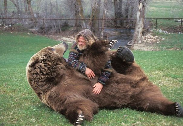 Bart The Bear And His Trainer Doug Seus