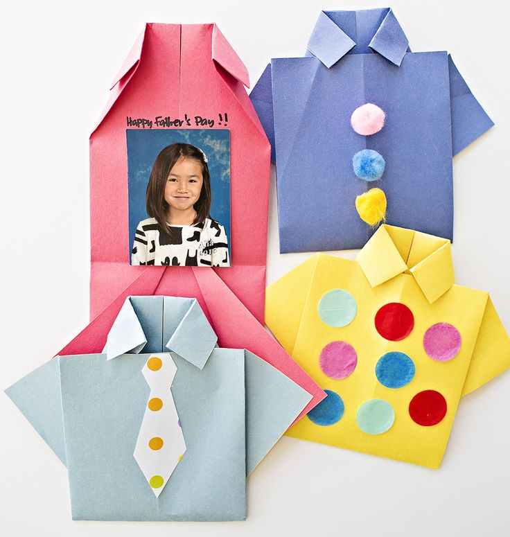 hello, Wonderful - EASY ORIGAMI SHIRT FATHER'S DAY CARD