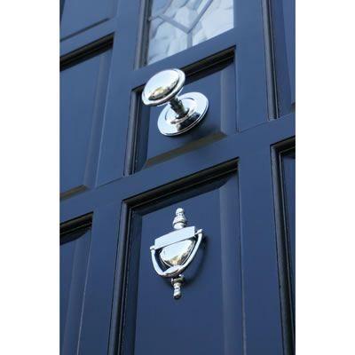 round centre door knob 85mm polished chrome. Black Bedroom Furniture Sets. Home Design Ideas