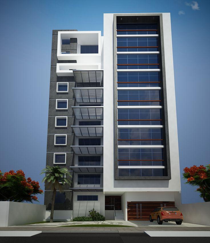 Las 25 mejores ideas sobre edificios modernos en pinterest for Fachadas de apartamentos modernas
