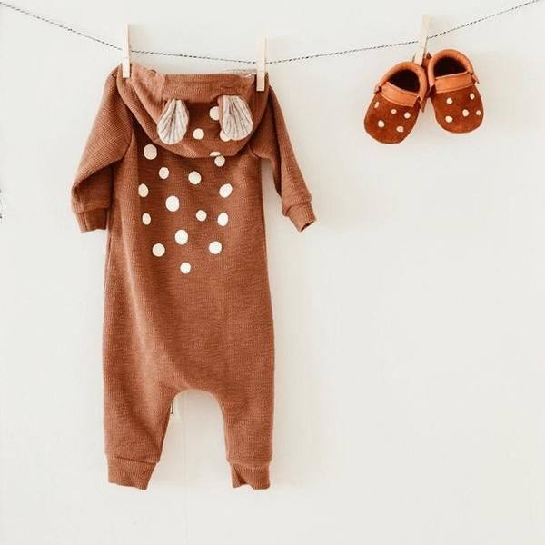 Sweetest little bambi baby suit