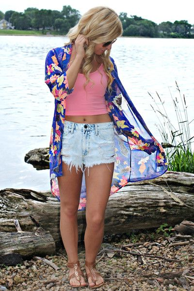 All Summer Long Kimono