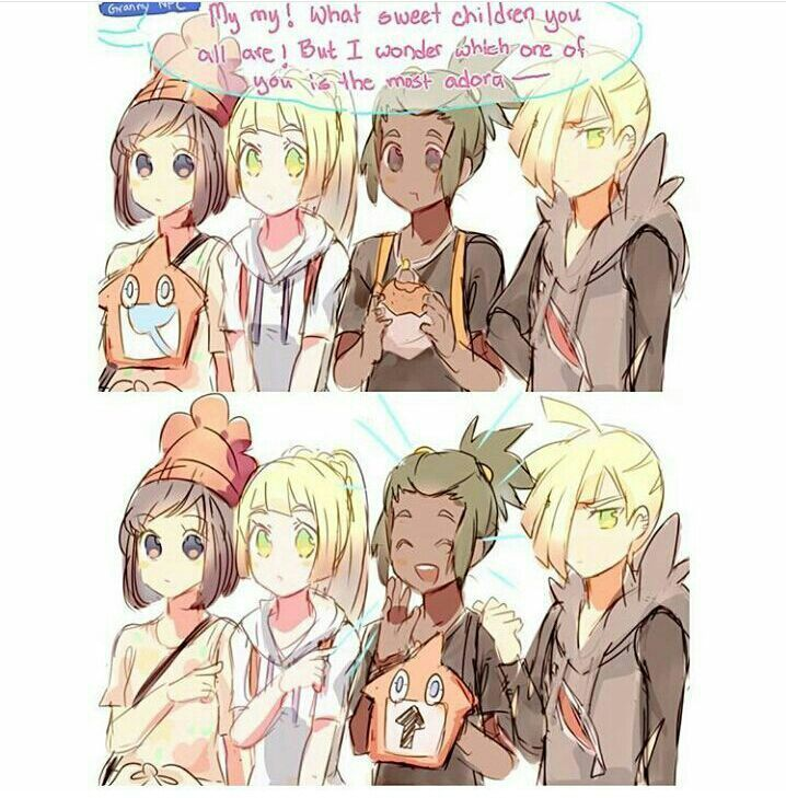 So true<<< no its gladion <<< IDK THEY'RE ALL ADORABLE HELP