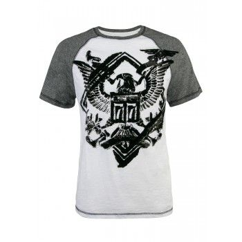 Eagle Graphic Raglan Tee
