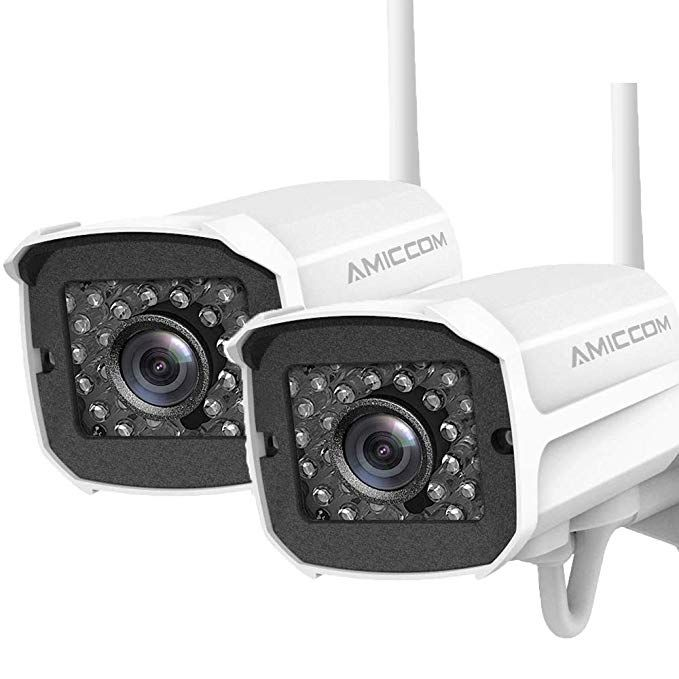 Outdoor Security Camera 2 Pack 1080p