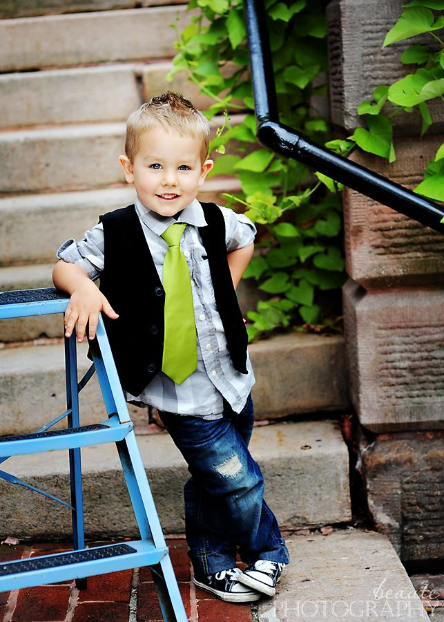 Can't wait to see our baby boy dress up like this!  Sooo cute!!