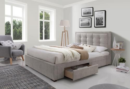 Bliss Upholstered Queen Bed | Jape Furnishing Superstore
