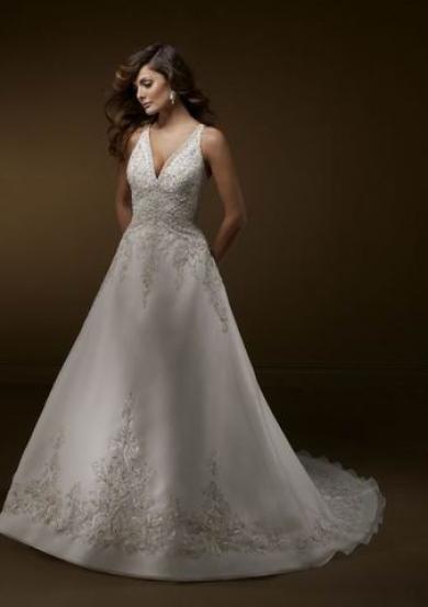 Svadobné šaty B2007