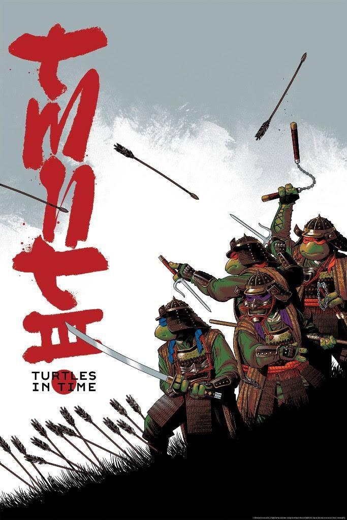 Teenage Mutant Ninja Turtles Iii Turtles In Time By Cameron Stewart